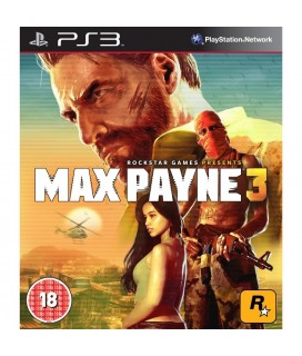 Max Payne 3 - Rockstar (PS3 Game)