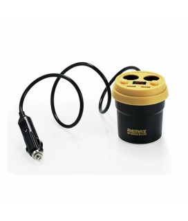 Remax CR-2XP Car Charger - Μαύρο