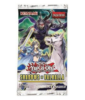 YU-GI-OH:SHADOWS ΙΝ VALHALLA BOOSTER PACK ΦΑΚΕΛΑΚΙ