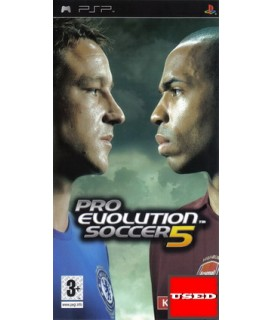 Pro Evolution Soccer 5 PSP Used-Μεταχειρισμένο