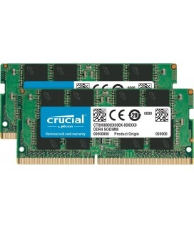 Crucial 8 GB DDR4 2.400MHz RAM CL17 SO-DIMM Kit