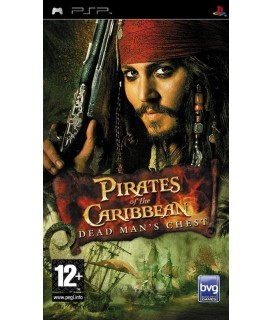 PIRATES OF THE CARIBBEAN:DEAD MAN'S CHEST PSP GAMES Used-Μεταχειρισμένο