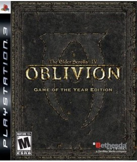 The Elder Scrolls IV Oblivion Game Of The Year PS3 Games Used-Μεταχειρισμένο