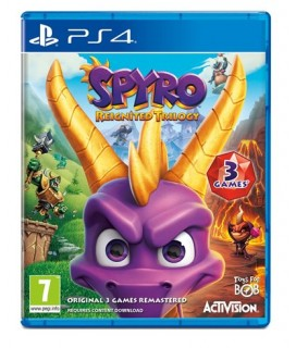 Spyro Reignited Trilogy - PS4 Game Used-Μεταχειρισμένο