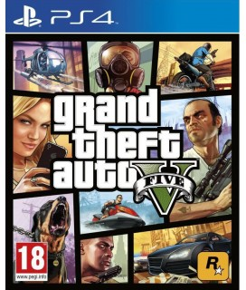 Grand Theft Auto V - GTA V (PS4) Used-Μεταχειρισμένο