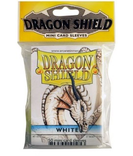 DRAGON SHIELD SMALL WHITE 50-CT