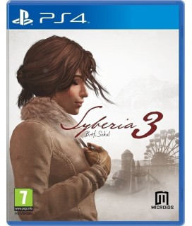 Syberia 3 PS4 Games Used-Μεταχειρισμένο