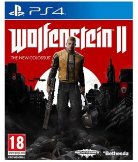 Wolfenstein II The New Colossus PS4 Used-Μεταχειρισμένο
