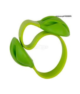 GRAB N GO SILICONE CABLE HOLDER GREEN GNG-157