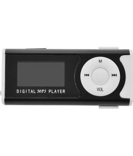 LAMTECH DIGITAL MP3 PLAYER 16GB WITH FM RADIO BLACK