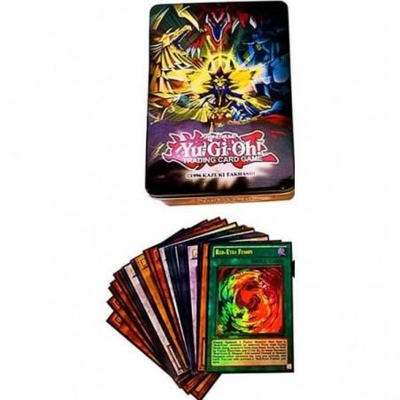 Yu-Gi-Oh! Starter Collection 50 Cards including Rare & Super Rares in Tin