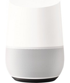 Google Home Smart Speaker with voice control white