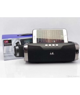 L2-E22 wireless Bluetooth speaker Portable card subwoofer mobile bracket outdoor χρώμα Μαύρο