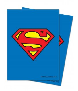 SUPERMAN DECK PROTECTOR 65-CT