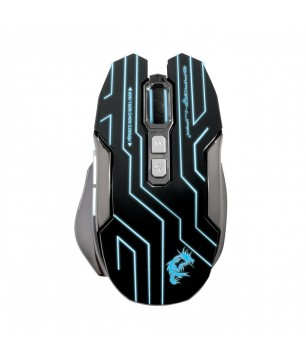 Dragon War, G12,Gaming mouse, Reload, + Mousepad, Black